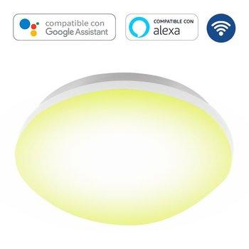 Lámpara Plafón Cloud Smart Blanco Dinámico Estevez