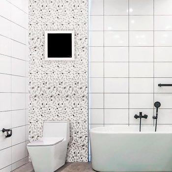 Muro Ceramico Daltile 20 x 60 cm Gray Shades Moxaic