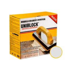 Boquilla sin Arena Uniblock 5 kg Plata