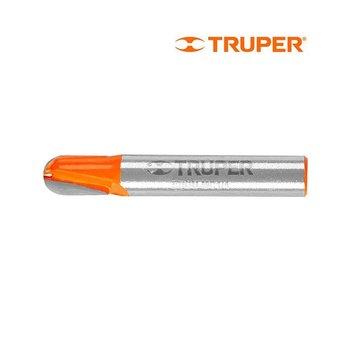 Broca Router Media Caña ¼ pulg Truper