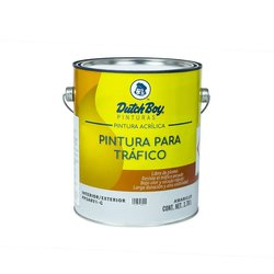 Pintura Amarillo Tráfico Dutch Boy 4 Lt
