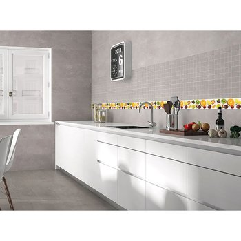 Decorado para muro en 15x45cm Frutal Mix marca Tiles 2000