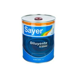 Diluyente Sayer Lack Poliuretano 3.78 Lt