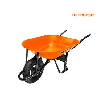Carretilla Truper 4.5 pies Calibre 20 Naranja
