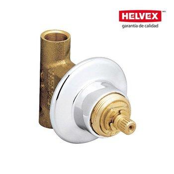 Válvula Empotrar Helvex E-61-II Cromo