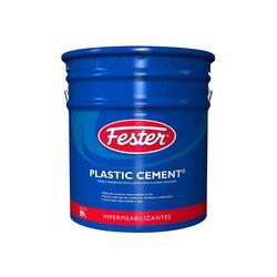 Cemento Plástico Negro Fester Plasticement 19 l