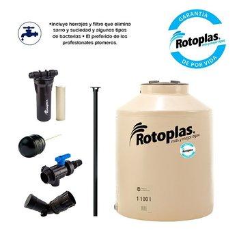 Tinaco Rotoplas Beige 1100 l