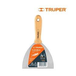 Espátula Flexible Mango Madera 5 pulg Truper ET5F