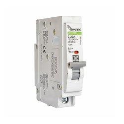 Pastilla Interruptor Iusa Termomagnético 1 x 10 amp