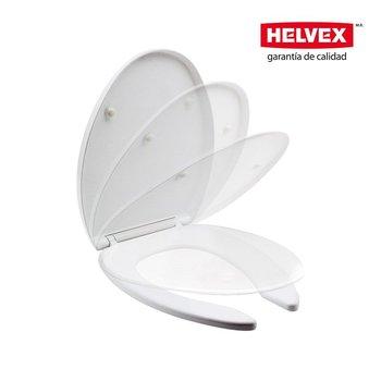 Asiento Sanitario Alargado Helvex Blanco AT-4