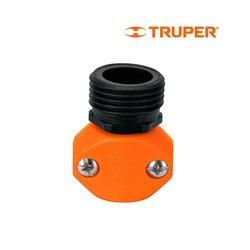 Conector Macho Plástico Truper ½ pulg REM1/2
