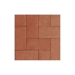 Adoquín Grand Holland Mextile 30 x 15 x 6 cm Terracota
