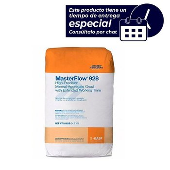 Mortero Grout mineral Masterflow Master Buildres 928 25 kg