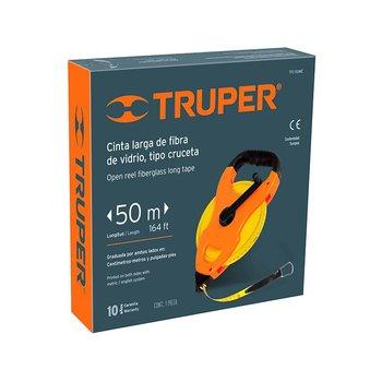 Cinta Flexómetro Fibra Vidrio Truper 50 m