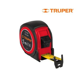 Flexómetro Compacto con Grip Truper 5 m