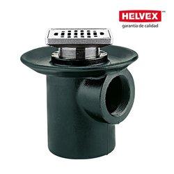 Coladera Helvex una Boca Rejilla Cuadrada 24-CH