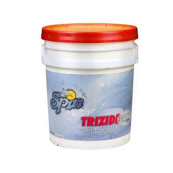 Triple Acción Trizide Spin Químico Alberca 20 kg