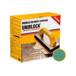 Boquilla sin Arena Uniblock 5 kg Esmeralda