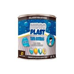 Cemento Plástico Negro Asfáltico Protexa Hidroplast 19 Lt