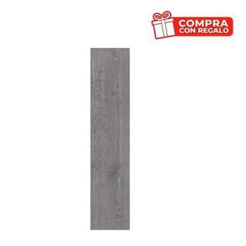 Piso Timberwood Daltile 20 x 90 cm rectificado Gray GTW3