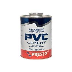 Pegamento PVC Presto 946 ml