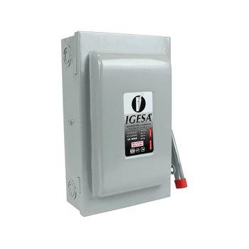 Interruptor Seguridad Igesa 2 x 60 amp