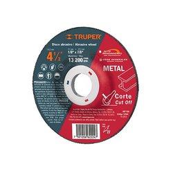 Disco Corte Metal Truper 4½ pulg