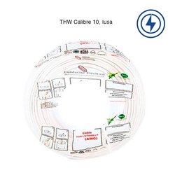 Cable THW Calibre 12 Blanco 100 m
