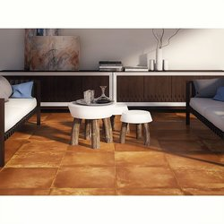 Piso Cotto Daltile 45 x 45 cm Rojo GC01