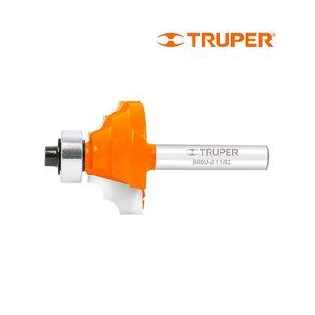 Broca Router Moldura Clásica 1 1/8 x 1/2 pulg Truper