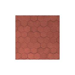Adoquín Orión Mextile 19.1 x 16.5 x 6 cm Rojo Rubí