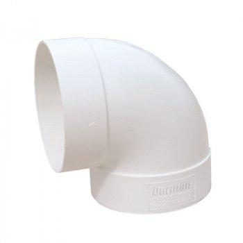 Codo PVC Sanitario 4 90 Grados 100 mm