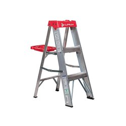 Escalera Cuprum de Tijera Aluminio 3 Pies 90 kg