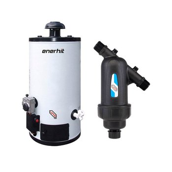 Paquete Calentador Depósito 40L Gas LP y Kit Instalación