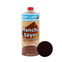 Tinta al Aceite Mancha Sayer Chocolate 1 Lt