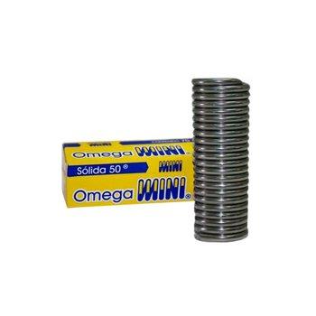 Soldadura Estaño Solida 50-50 Omega 3 mm x 1 m