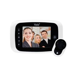 Mirilla Digital Yale Real View Pro Blanca