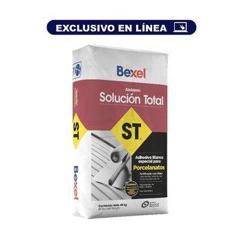 Adhesivo Solución Total Bexel 40 kg Blanco