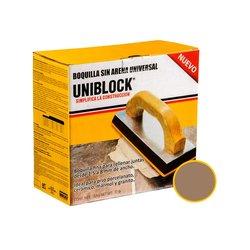 Boquilla sin Arena Uniblock 5 kg adobe