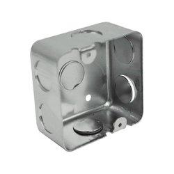 Caja Cuadrada Galvanizada Reforzada 3 x 3 pulg