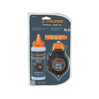 Tiralineas Plástico Gis Nivel Truper 30 m TL50