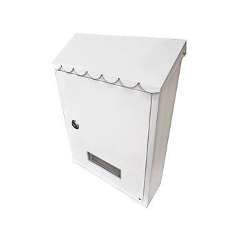 Buzón Metálico Handy Home 22 x 30.5 x 7 cm Blanco