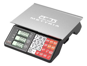 BASCULA COMERCIAL 30KG USB METTRIA