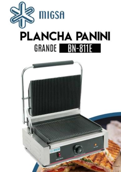 PLANCHA PANINI ELECTRICA GRANDE MARCA MIGSA
