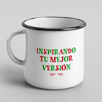 Taza de peltre Warmest Wishes