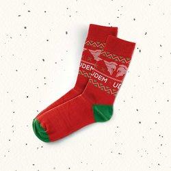 Calcetines rojos Christmas