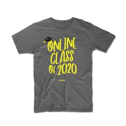 Playera Online Class of 2020 UDEM 2. Velvet