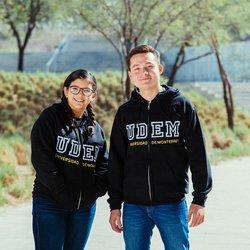 Sudadera con cierre UDEM College