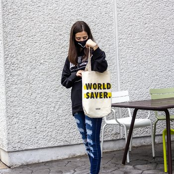 Tote bag World Saver