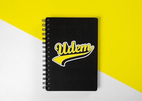 Libreta UDEM Vintage. Velvet